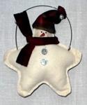 Karácsonyi hóember